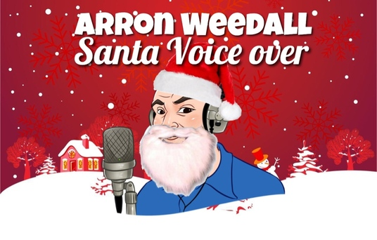 Record your Santa Voice Over for Christmas **AS SEEN ON TV**