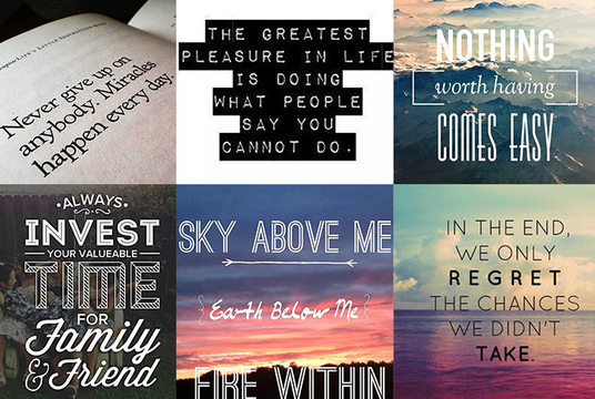 I will create 100 Motivational Quotes with your Logo and URL