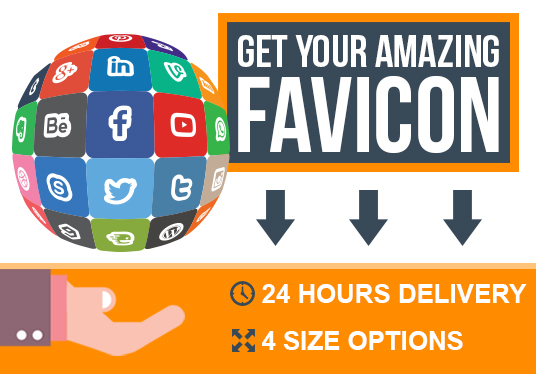 I will create a favicon of your logo in less than 24hours