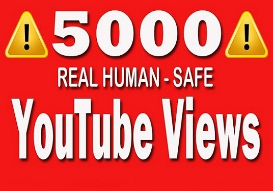 I will promote your YouTube video to 5000  real Viewers