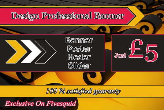 I will Professional banner