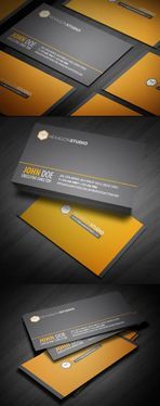 design clean Business Card
