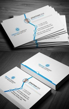 cccccc-design clean Business Card