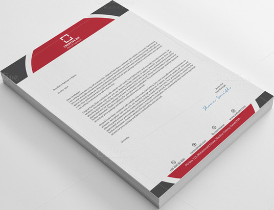 I will design stylish and professional Letterhead