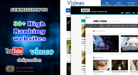 cccccc-manually submit your video to 30+ high ranking most visited websites