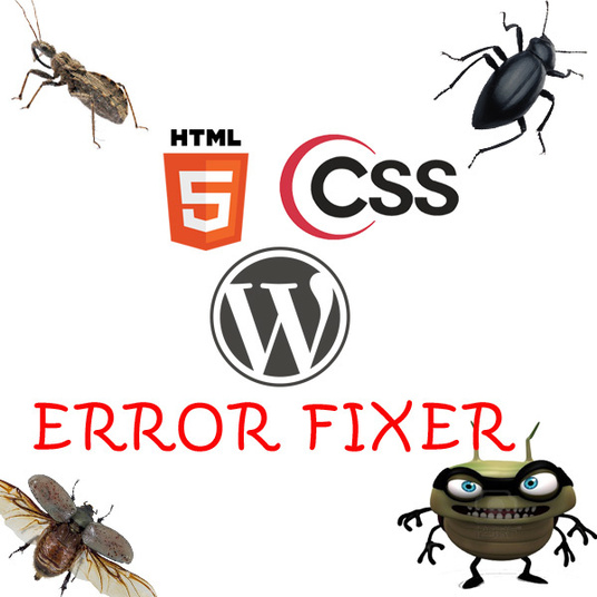 I will fix your html css wordpress error bug issues