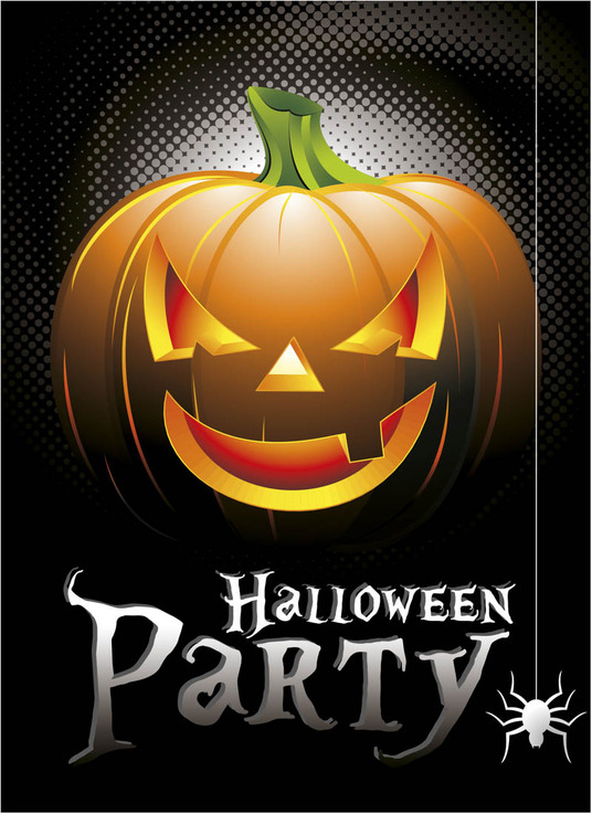 I will Design awesome Halloween Cards, posters and other graphics