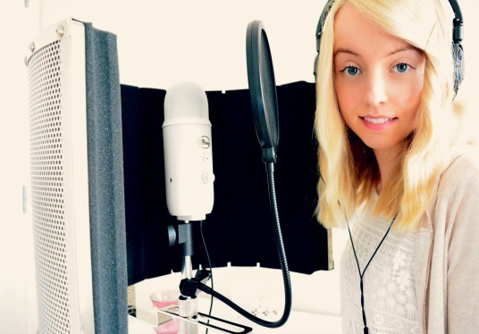 I will provide a professional female voice over