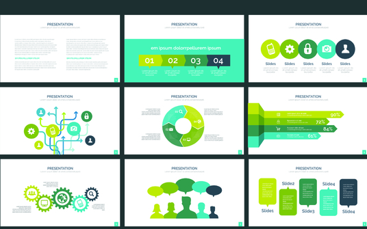 create an awesome powerpoint or keynote presentation up to 4 slides