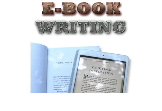 I will write High Quality Top selling eBook