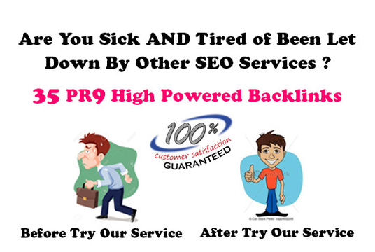 I will Domain Authority Stacking 35 Pr9 Backlinks With Bonus