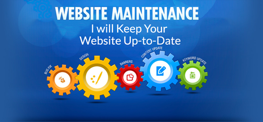 I will do your website maintenance monthly | I am Fivesquid Best Seller