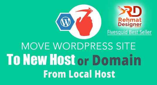 I will Transfer WordPress website to new Hosting or Domain | I am Fivesquid Best Seller