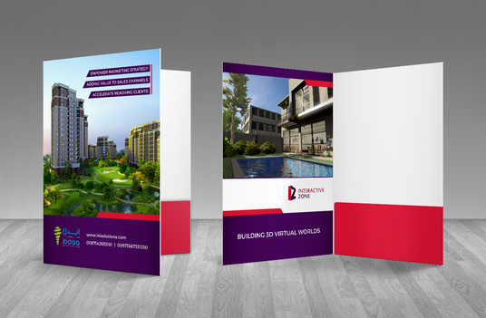 I will Presentation or business folder design with PDF files in 24 hours