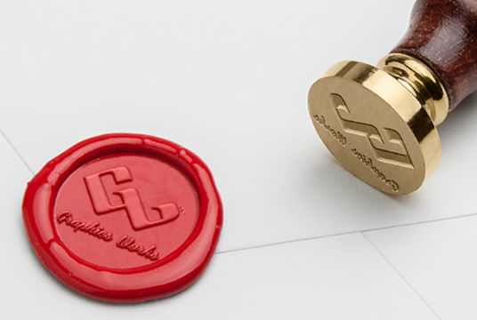 I will create a customized wax seal design