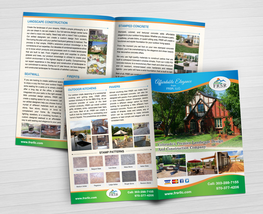 I will design 8 page A4 size brochure with print ready PDF files in 48 hours