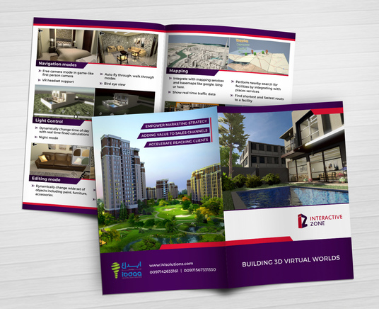 I will design REAL ESTATE flyer, postcard, bifold brochure, roll up banner with PDF files in 48 h