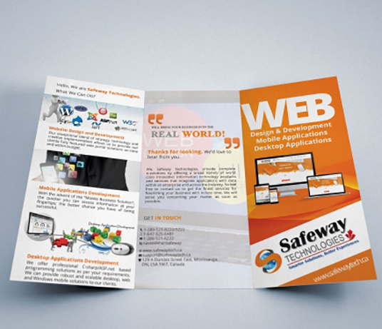 I will design Brochure or Flyer