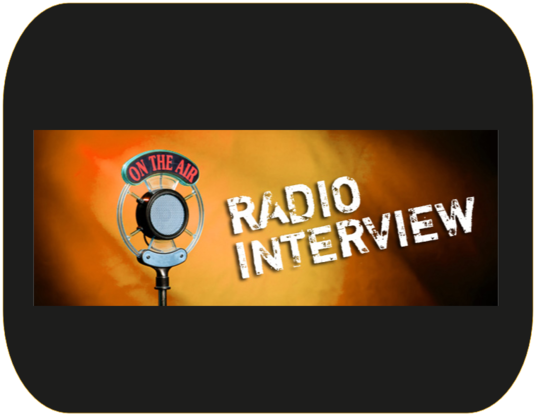I will interview you live on Two major radio station