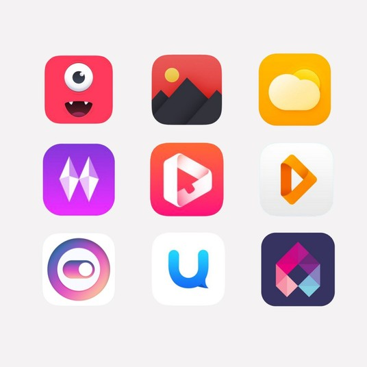 I will design app or web icons