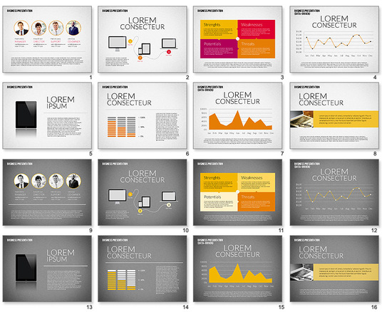I will design powerpoint or PDF presentation