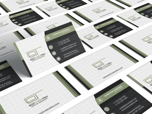 Design Professional double sided business card