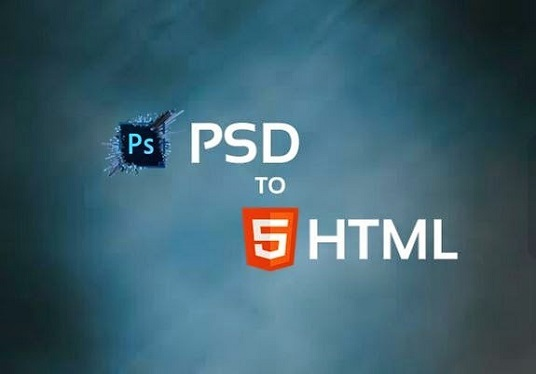 I will  convert psd to html with jQuery effect