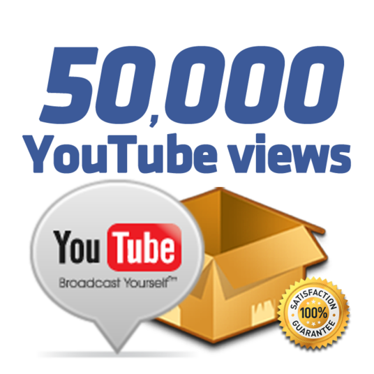 I will give you 50,000+ Safe Youtube view in just 3 day