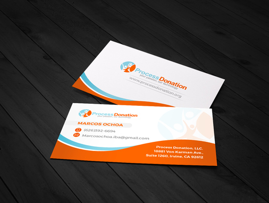 I will professionally design 2 sided business card with in 24 hours