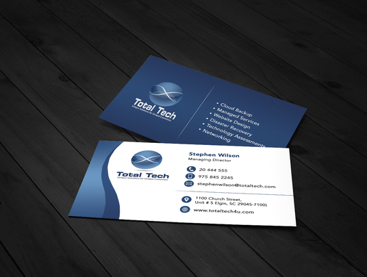 I will design professional single sided business card design with print ready files in 24 hours