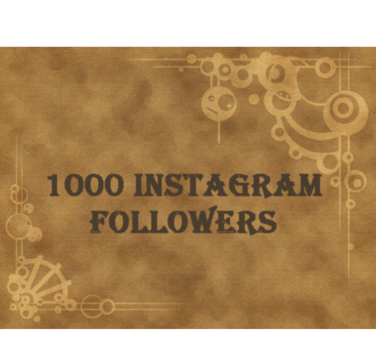 I will do 1000 Hight Quality IG followers