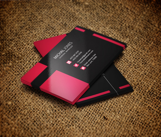 I will design 2 unique and eye catching business Card