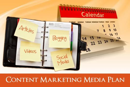 I will create an 8 week content marketing media schedule