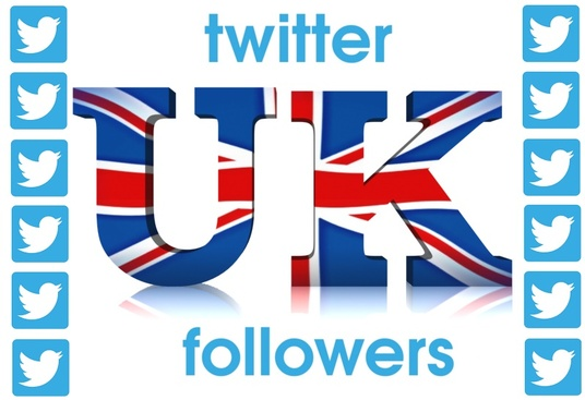 I will provide you 1000+ Real UK twitter Followers