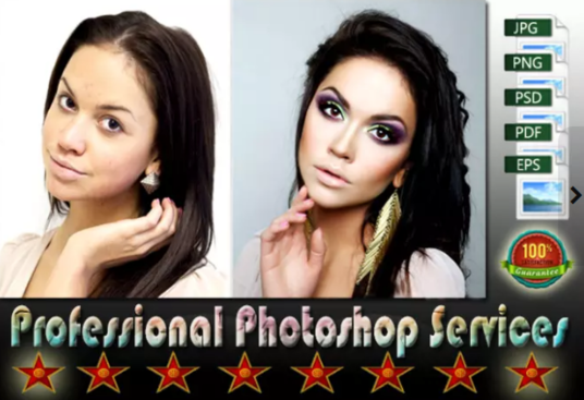 I will adobe PHOTOSHOP edit photo retouching