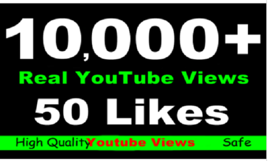 I will add 10000 youtube views likes