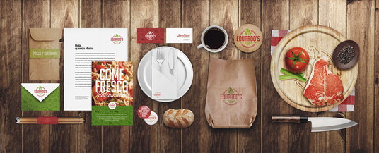 I will Replicate your LOGO for Food Restaurant Identity