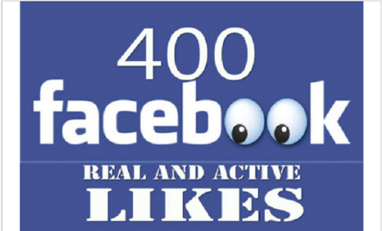 I will add 400 + USA permanent Facebook likes
