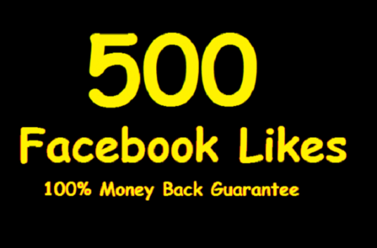 I will add 500+ facebook likes