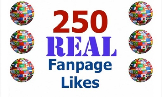 I will  add 250 Real Facebook Likes to your Page