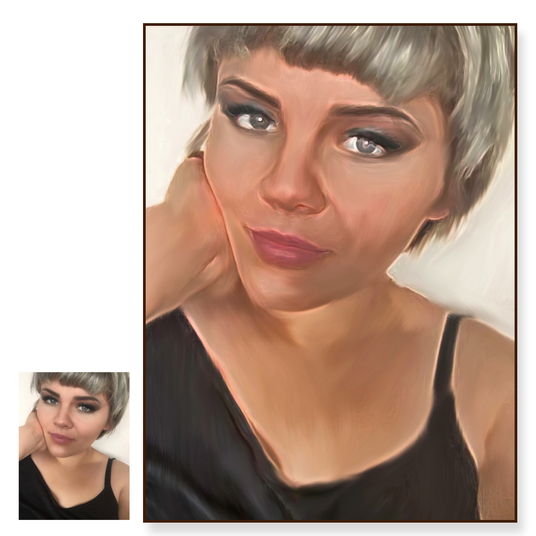 I will turn your photos into Painting Artwork