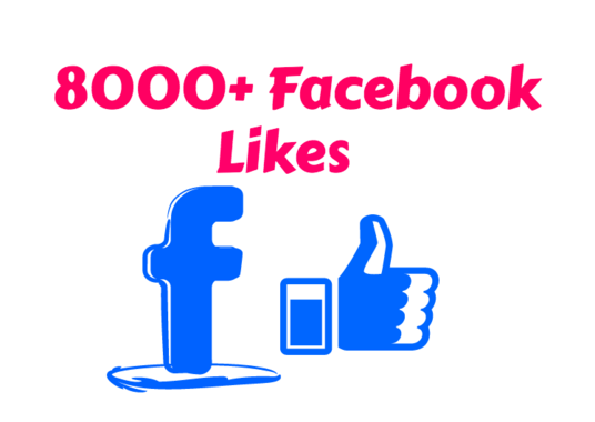 I will Give 8,000+ facebook page likes in Your Fan Page