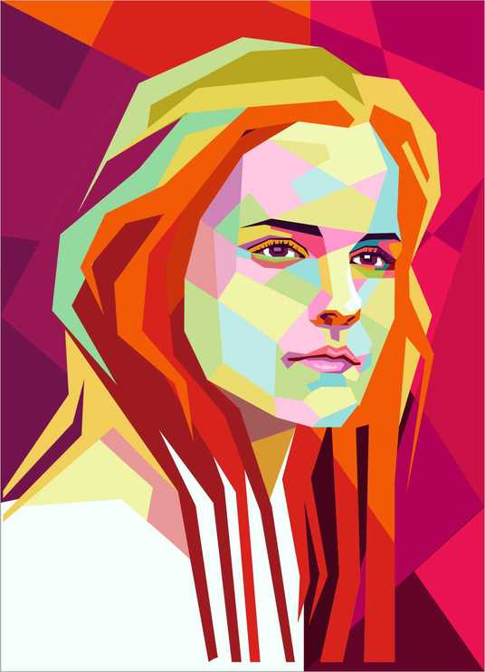 I will make your photo into stunning wpap popart  style