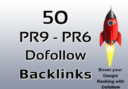 I will create manually 50 dofollow pr9 to pr6 profile backlinks