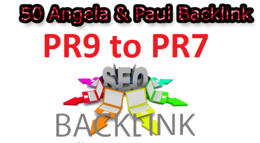 I will manually create 50 pr9 to pr7 profile backlinks