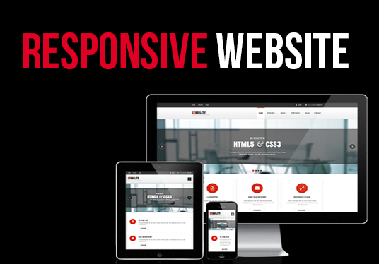 I will make a full responsive website with Bootstrap 3