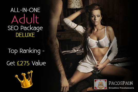 I will ALL-IN-ONE Adult SEO Package DELUXE