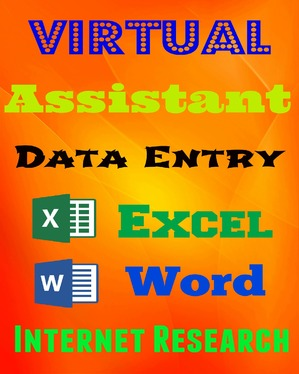 be your Virtual Assistant or do Data Entry work