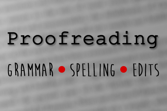 cccccc-proofread a document under 1500 words. Spelling, grammar, and minor edits included