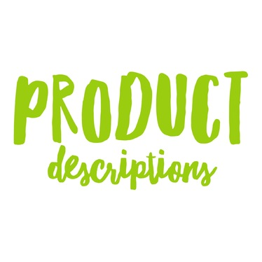 write a COMPELLING product description